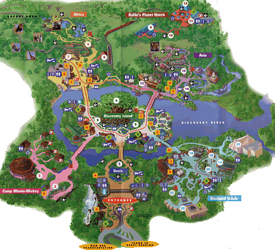 Animal Kingdom Florida Map.Animal Kingdom Florida Map Bnhspine Com